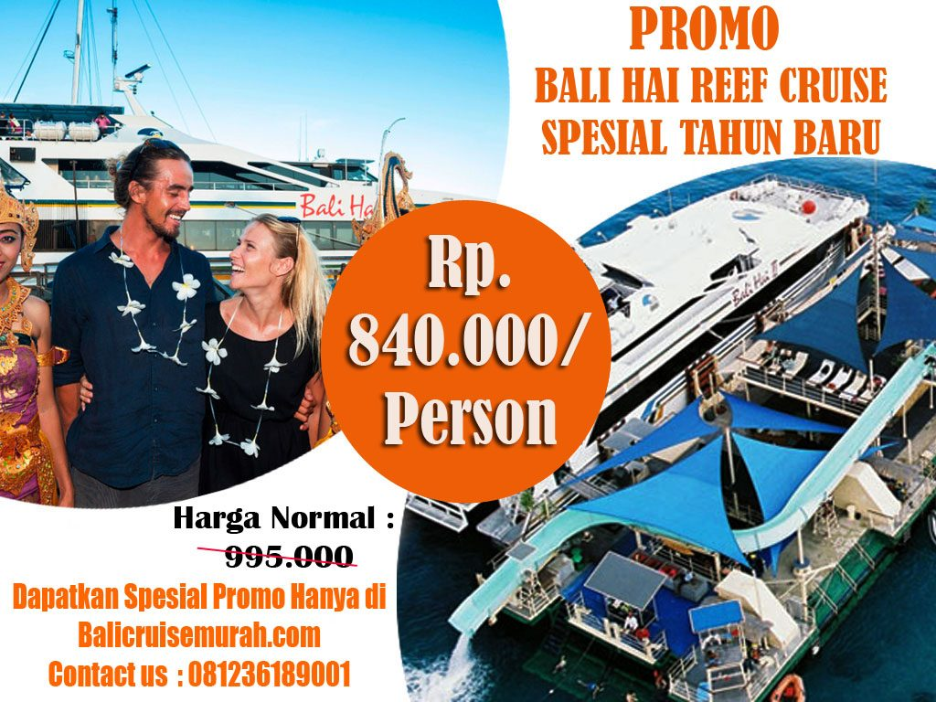 Promo Bali Hai Reef Cruise Spesial Tahun Baru